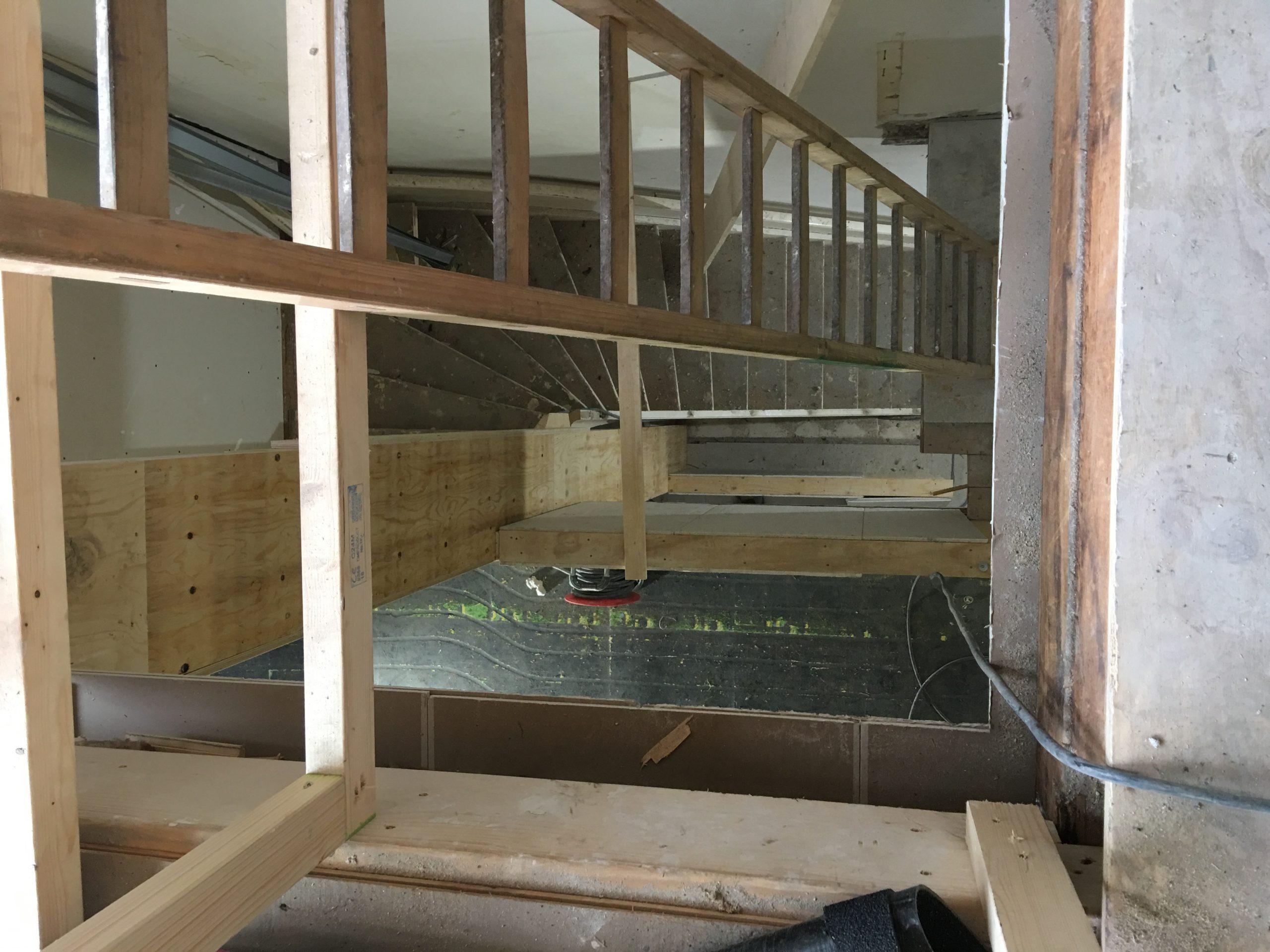 Grijzenhout aannemingsbedrijGroot-Amsterdam verbouwen trap 1